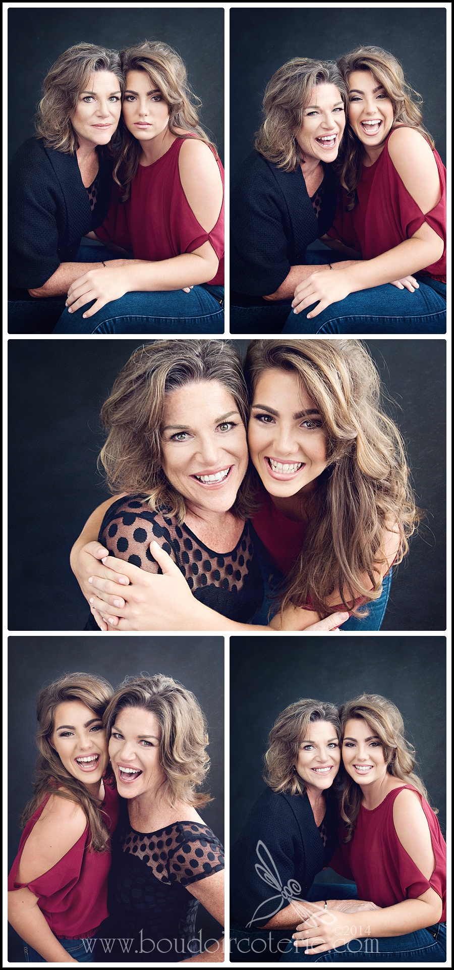 Motherdaughter Beauty Session San Jose Glamour Photographer