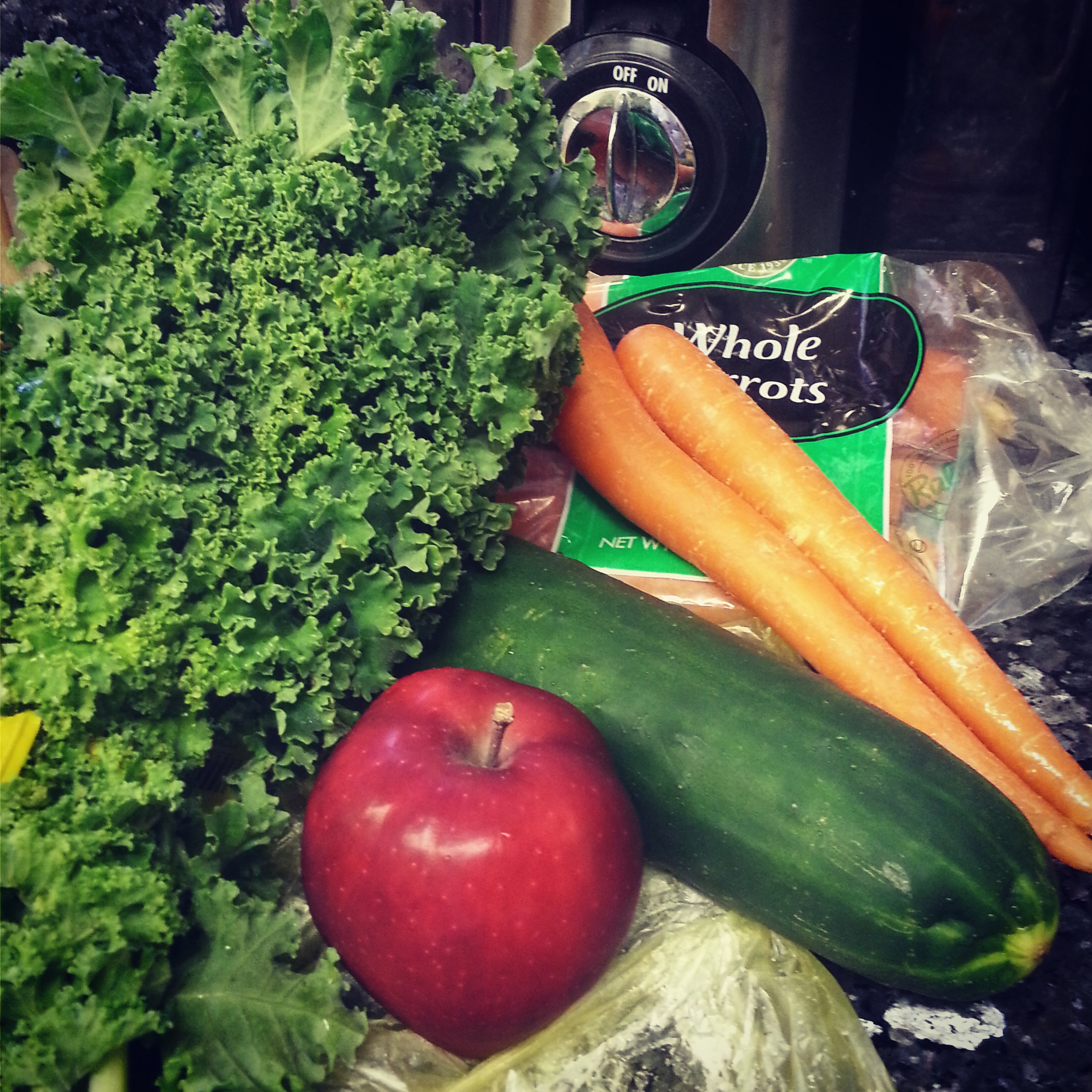 Juicing healthy veggies san jose