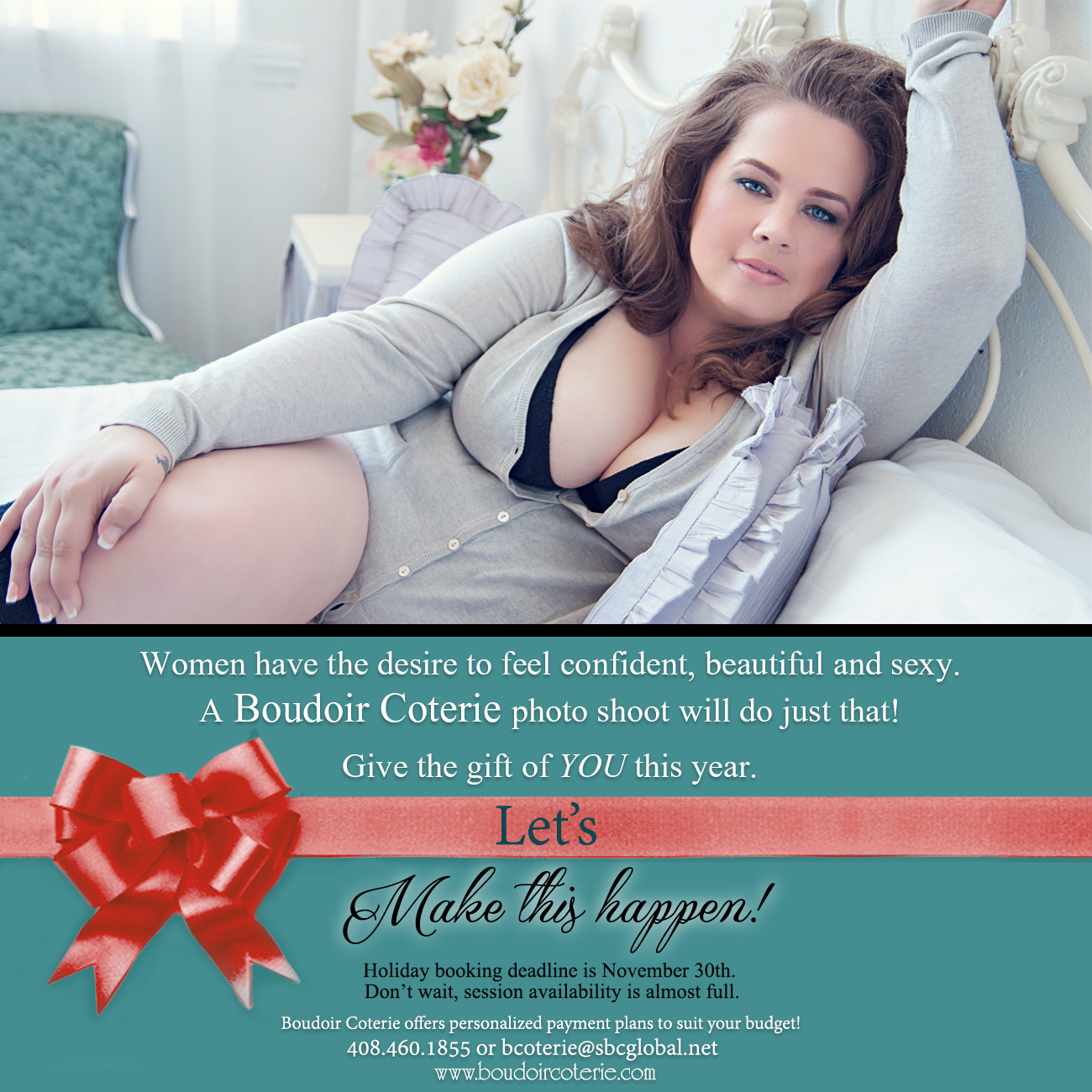 San Jose Bay Area boudoir photography