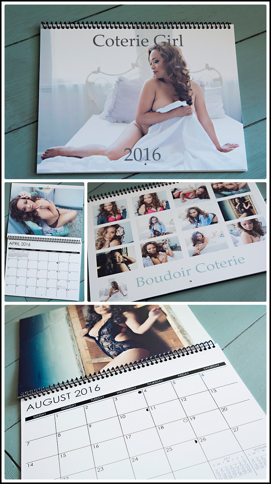 Best San Jose Boudoir Photographer Calendar shots