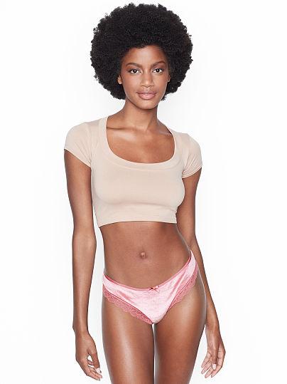 4559548d44 Very Sexy Cutout Velvet Thong Panty