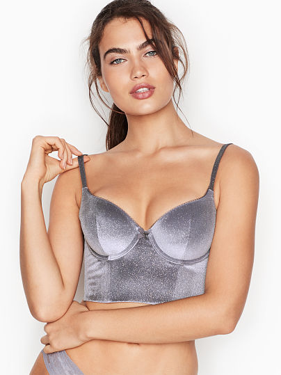 16e408c9d7 Body by Victoria Long Line Demi Bra